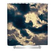Edgewater Skies Shower Curtain