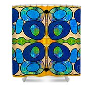 Edible Extremes Abstract Bliss Art By Omashte Shower Curtain