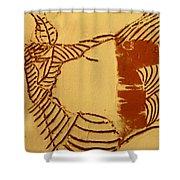 Edify - Tile Shower Curtain