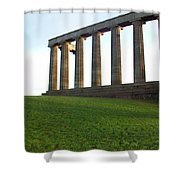 Edinburgh - Caption Hill Shower Curtain