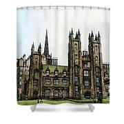 Edinburgh Architecture 3 Shower Curtain