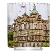 Edinburgh Bank Of Scotland Building Shower Curtain
