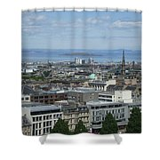 Edinburgh Castle View #5 Shower Curtain