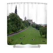 Edinburgh Park  Shower Curtain