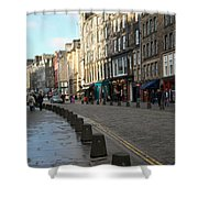 Edinburgh Royal Mile Street Shower Curtain