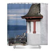 Edinburgh Scotland Shower Curtain
