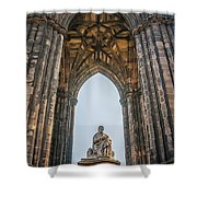 Edinburgh Sir Walter Scott Monument Shower Curtain