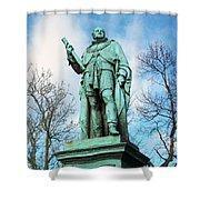 Edinburgh Trees Shower Curtain