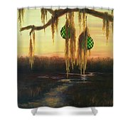 Edisto Island Glass Floats Shower Curtain