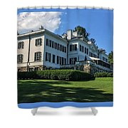 Edith Wharton Estate Shower Curtain
