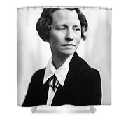 Edna St. Vincent Millay Shower Curtain
