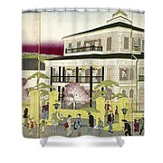 Edo: Bank, C1873 Shower Curtain