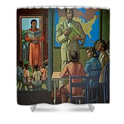 Education Shower Curtain