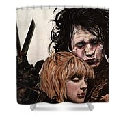 Edward And Kim Shower Curtain