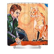 Edward Cullen And His Diet Shower Curtain