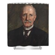 Edward Guthrie Kennedy , By William Merritt Chase 1849-1916 Shower Curtain