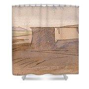 Edward Lear - Dendera Shower Curtain
