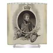 Edward Scriven 1775-1841 His Royal Highness The Duke Of Cumberland. 1807 Shower Curtain