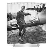Edward V. Rickenbacker Shower Curtain