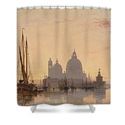 Edward William Cooke Venezia 1851 Shower Curtain
