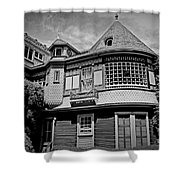 Eerie Winchester House  Shower Curtain