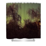 Eery Park Shower Curtain