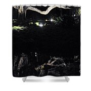 Eery Reflections Shower Curtain