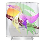 Effect Shower Curtain