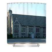 Egg Harbor Church Shower Curtain