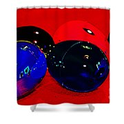 Eggs In Space? Shower Curtain
