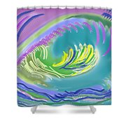 Eggs To You Shower Curtain
