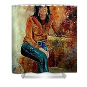 Eglantine 57 Shower Curtain