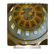 Eglise Du Dome Church Paris Shower Curtain