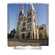 Eglise Notre - Dame En Vaux Shower Curtain