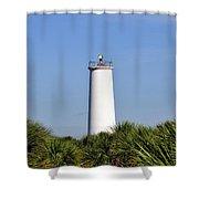 Egmont Key Florida Shower Curtain