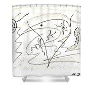 Egozentrik 17106 Shower Curtain