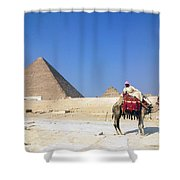 Egypt - Pyramid Shower Curtain