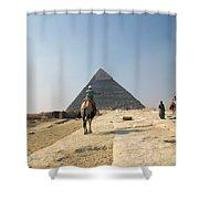 Egypt - Pyramid3 Shower Curtain