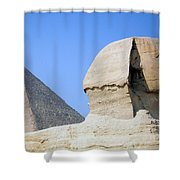 Egypt - Pyramids Abu Alhaul Shower Curtain