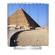 Egypt - Way To Pyramid Shower Curtain