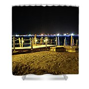 Egypt At Night Shower Curtain