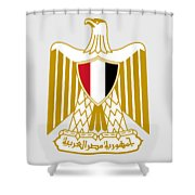 Egypt Coat Of Arms Shower Curtain