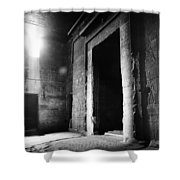 Egypt: Dendera: Temple Shower Curtain