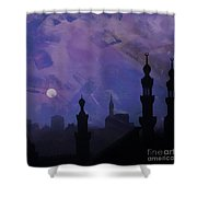 Egypt Mosque  Shower Curtain