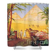 Egypt This Winter Shower Curtain