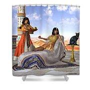 Egyptian Cleopatra Shower Curtain