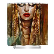 Egyptian Culture 4 Shower Curtain