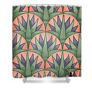 Egyptian Floral Shower Curtain