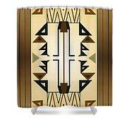 Egyptian Moderne Shower Curtain