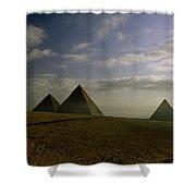 Egyptian Sunrise Shower Curtain